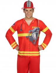 Brandmand t-skjorte voksen