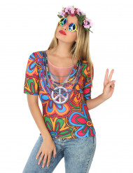 Hippie T-shirt Kvinde