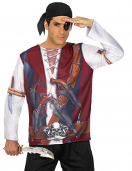 Pirat t-skjorte - voksen