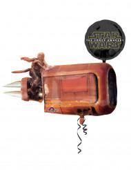 Aluminium ballon 88 cm x 73 cm Star Wars VII™