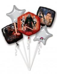Buket af balloner i aluminium Star Wars VII™