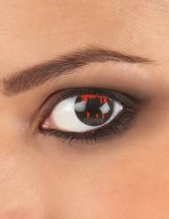 Linser fantasy øje såret sort baggrund voksne