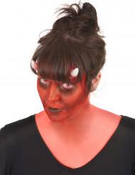 Makeup sæt dæmon med fantasykontaktlinser voksne Halloween