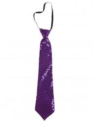 Lilla paillet slips til voksne