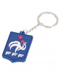 Nøglering silikone blå Frankrig FFF™