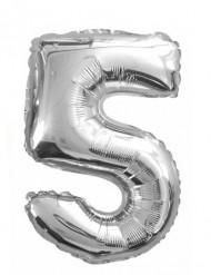 Ballon aluminium 5 tal 35 cm