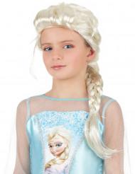 Paryk prinsesse blond med fletning til piger