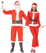 Parkostume Julemanden og hans kone