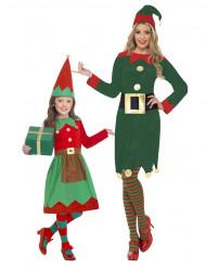 Parkostume julealfe mor og datter