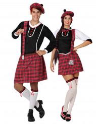 Parkostume skotsk par