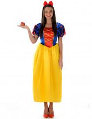 Æble eventyrprinsessekostume tikl kvinder
