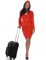 Kostume Stewardesse til kvinder