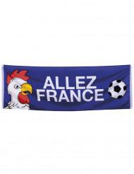 Supporter-banner Allez France 74 x 220 cm