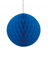 Honeycomb kugle i blå