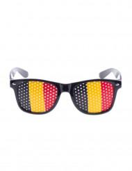 Briller supportet flag Belgien