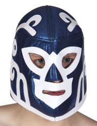 Blå Wrestlingmaske Voksen