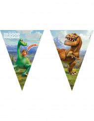 Guirlande med 9 vimpler Den gode dinosaur™