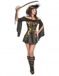 Elegant piratudklædning voksen
