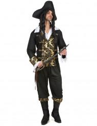Mr. Gold - Piratkostume til mænd