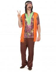 Cool hippie - Hippieudklædning til mænd