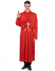 Præstekjole rød mand