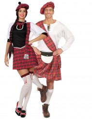 Parkostume skotsk par til voksne
