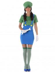 Blikkenslager grøn kvinde