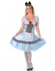 Alice i Eventyrland kvinde kostume