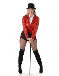 Kabaret rød kvinde