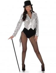 Kostume kabaret sølv til kvinder