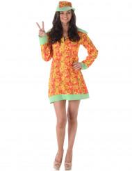 Kostume disko-hippie til kvinder
