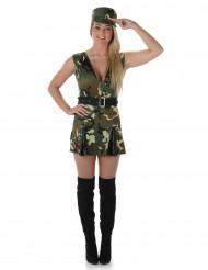 Kostume soldat til kvinder