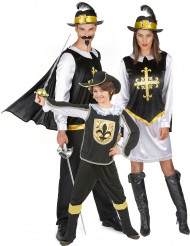 Familiekostume musketer