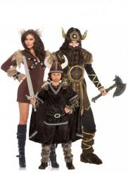 Vikinge familie - Gruppekostume