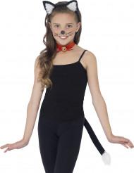 Sort kattetilbehørssæt Barn