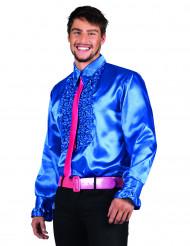 Skjorte disco blå til mænd