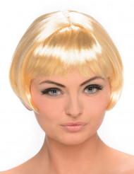 Blond Korthåret Pageparyk Kvinde