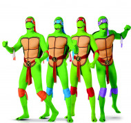 Gruppekostume Ninja Turtles Second Skin