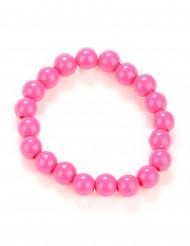 Armbånd lyserøde perler til voksne