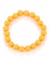 Armbånd orange perler til voksne