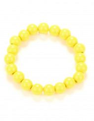 Armbånd gule perler til voksne