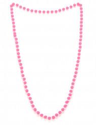 Perlekæde rosa til voksne