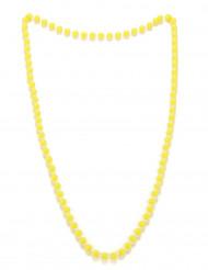Perlekæde gul til voksne