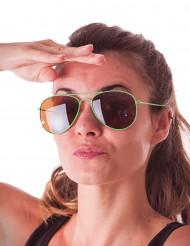 Grønne pilotbriller til voksne