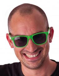 Briller blues fluo grønne til voksne