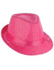 Hat lyserød med glimmer til voksne