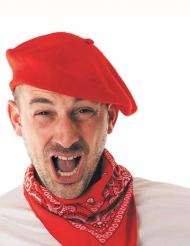 Baret baskisk rød til voksne