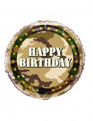 Militær ballon aluminium 45 cm