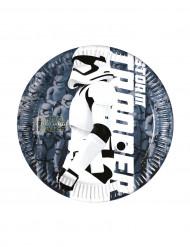 8 Små tallerkener Stormtrooper STAR WARS VII™