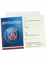 6 invitationskort  + kuverter PSG™